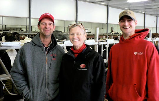 The Leedle family  of Lake Geneva installed 8 robots five years ago as they looked to the future of their family dairy.