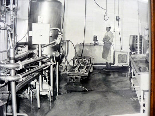 Frank Thomas of Greenwood invented the means to extract protein from cheese whey and changed the world. This was a major change for cheese making and nutrition.