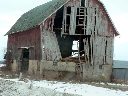 Did the dairy fail or just quit milking.  The soon to collapse barn knows.