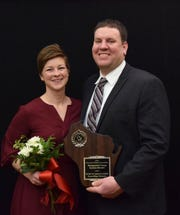 Distinguished Young Holstein Breeders are Kurt and Sarah Loehr of Eden.