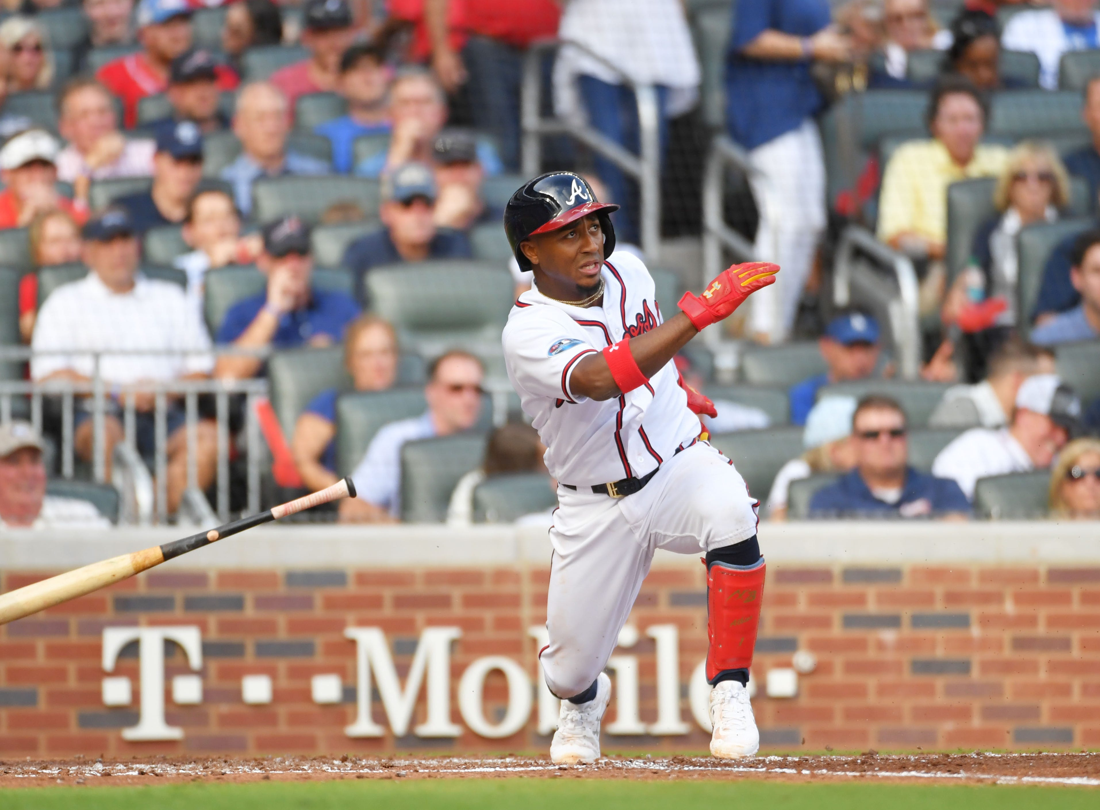 48. Ozzie Albies, Atlanta Braves second baseman.