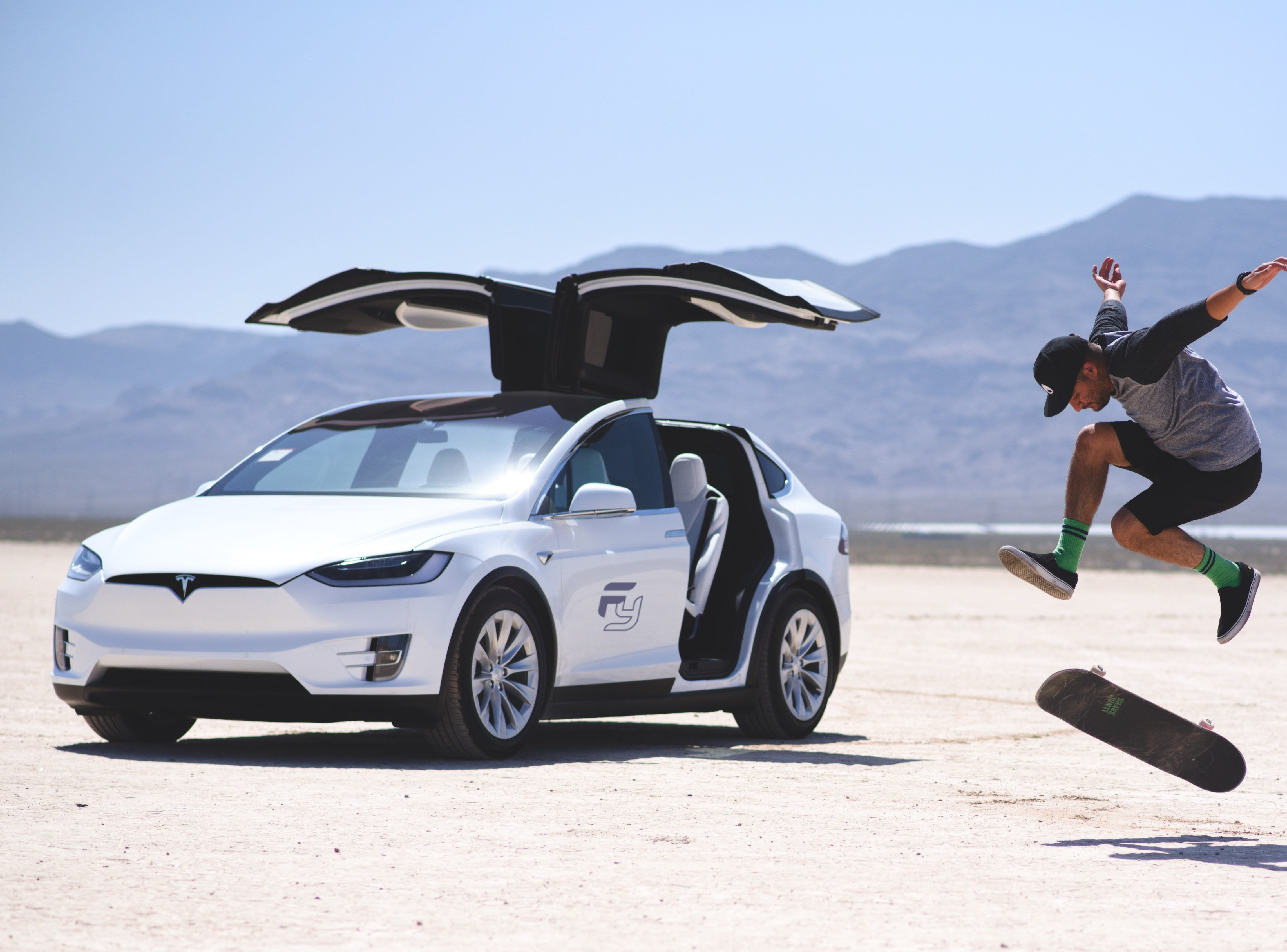Min and Chad Hurin figured out a way to afford to buy their Teslas -- rent them out, airbnb style. Their company, Frunk Yea, has a fleet -- an S, a 3 and an X -- and are based in San Diego and Tampa.