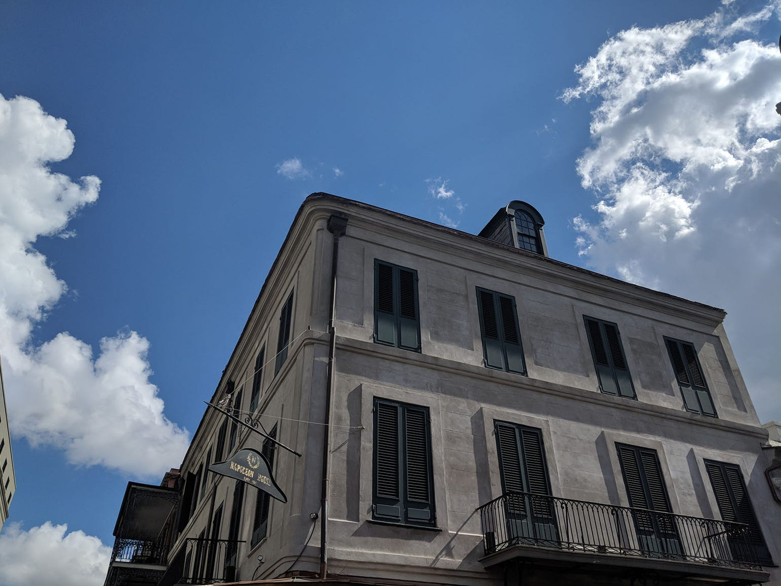 As one of nine National Historic Landmarks in the French Quarter, the Napoleon House has undergone its fair share of renovations, but it retains the charm that has endeared people to the building since 1815.