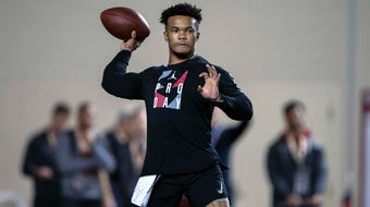 What I'm Hearing: USA TODAY Sports' George Schroeder was on hand for Kyler Murray's pro day and tells us what he heard from those in attendance.
