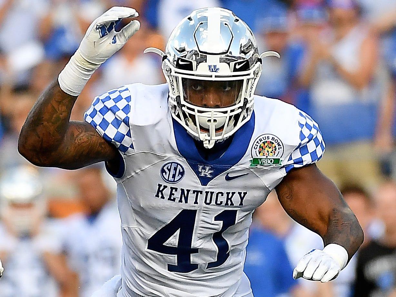 4. Raiders — Josh Allen, OLB/DE, Kentucky