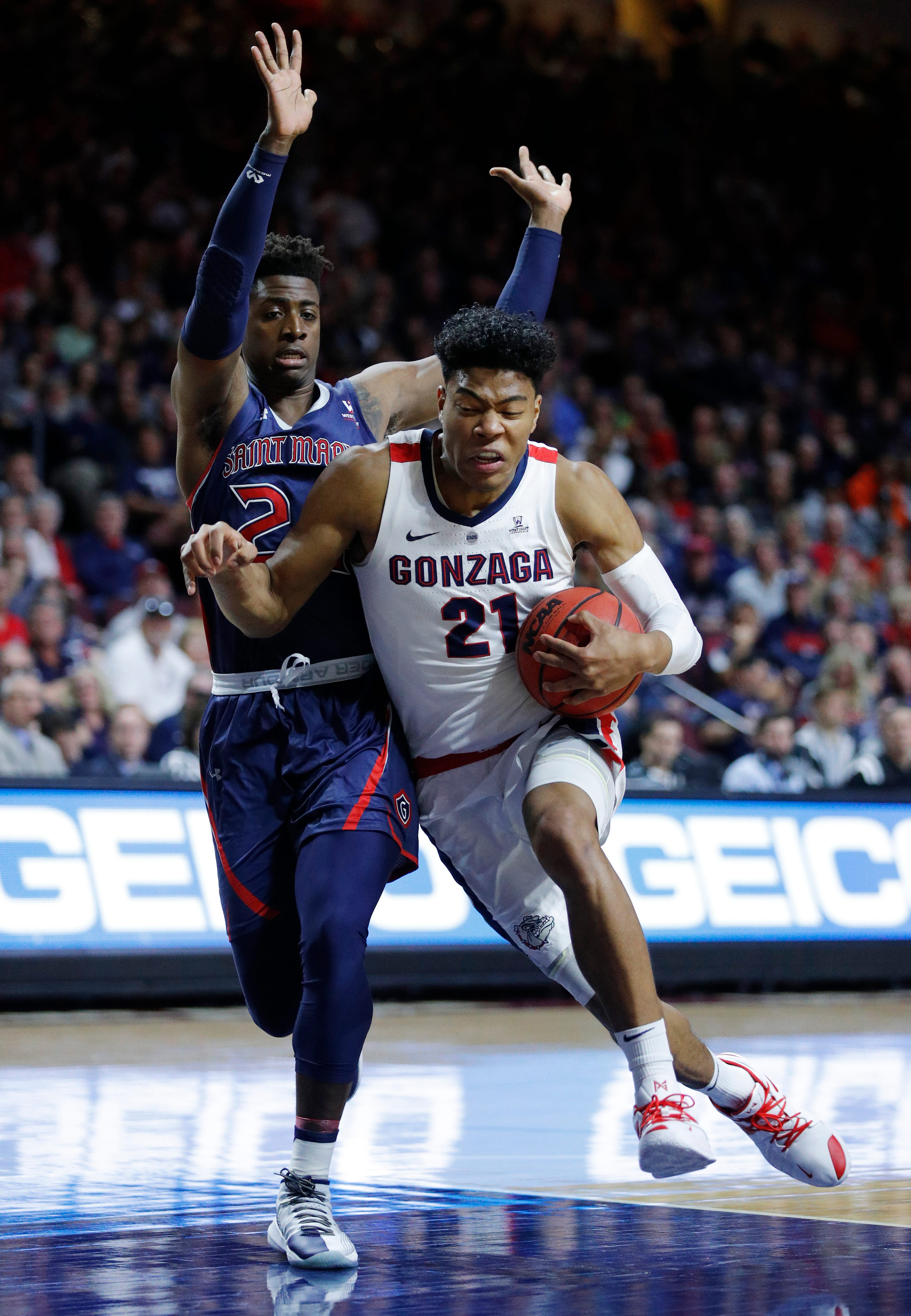 Saint Mary's upsets No. 1 Gonzaga to win WCC tournament title