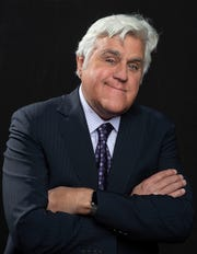 3/13/19 10:27:31 AM -- New York, NY, U.S.A  -- Jay Leno is stopping by the office to discuss how he uses his Apple Watch to monitor his health. He will also discuss the importance of monitoring cholesterol.  --    Photo by Robert Deutsch, USA TODAY staff ORG XMIT:  RD 137885 Jay Leno Health  03/1 [Via MerlinFTP Drop]