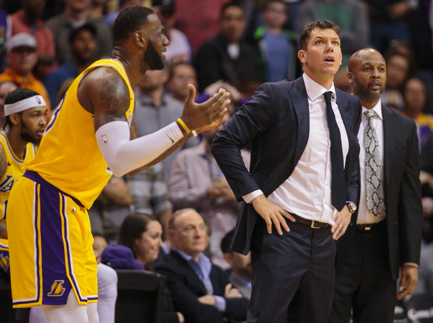 The Lakers will be making offseason changes and many believe coach Luke Walton will not return.