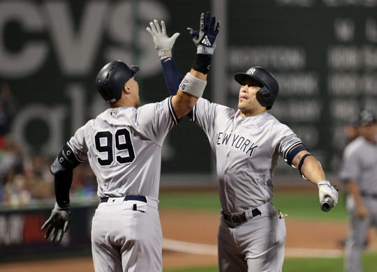 Aaron Judge and Giancarlo Stanton give the Yankees one of the best lineups in the game.