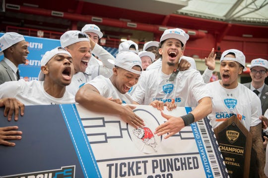 Gardner-Webb (23-11), No. 16 seed in South, Big South Conference champion