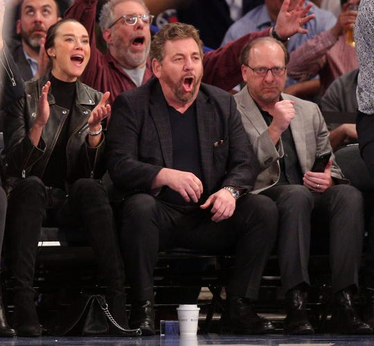 New York Knicks owner James Dolan has struggled to put a competitive team on the court.