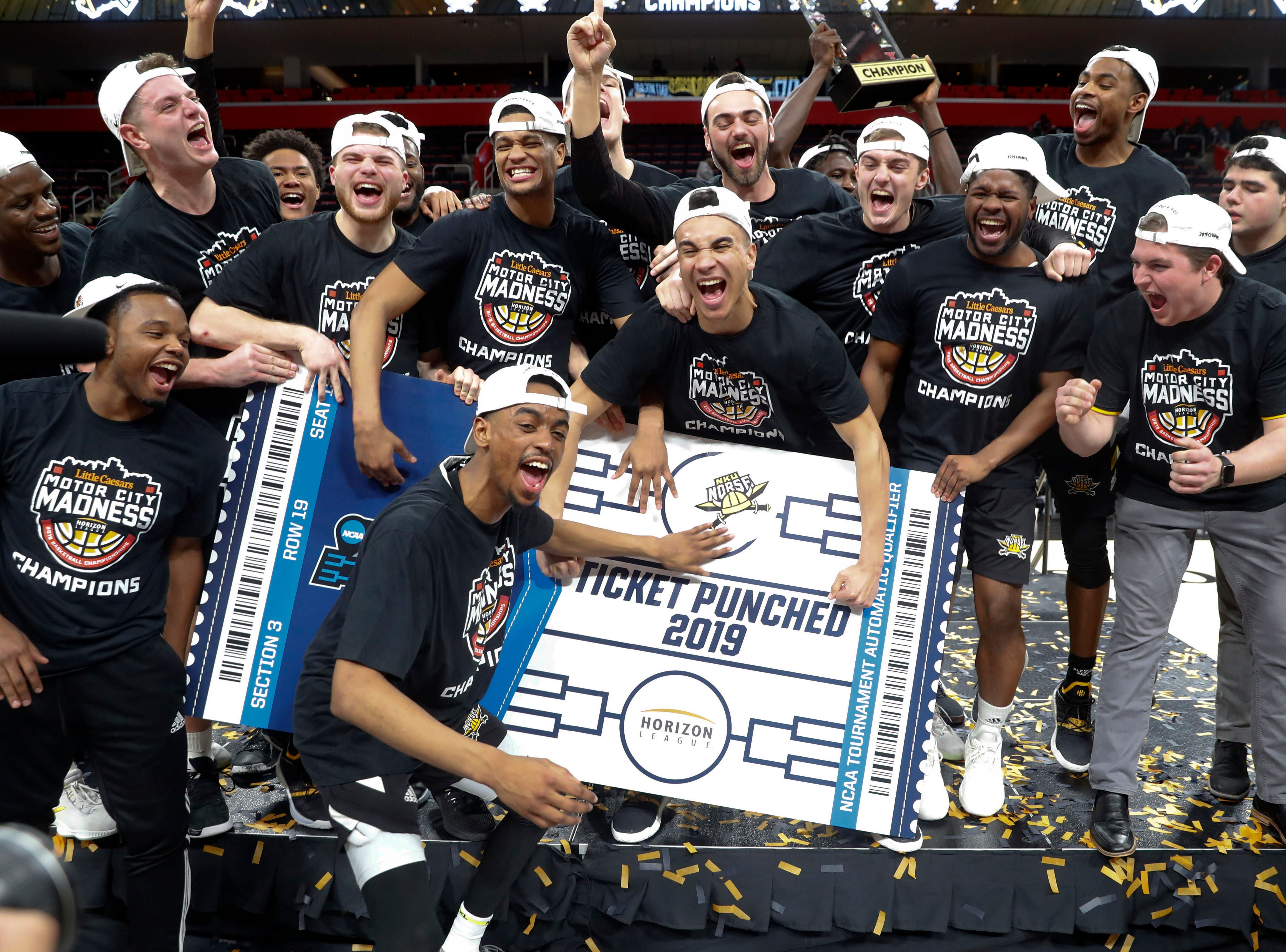 Northern Kentucky (26-8), No. 14 seed in West, Horizon League champion