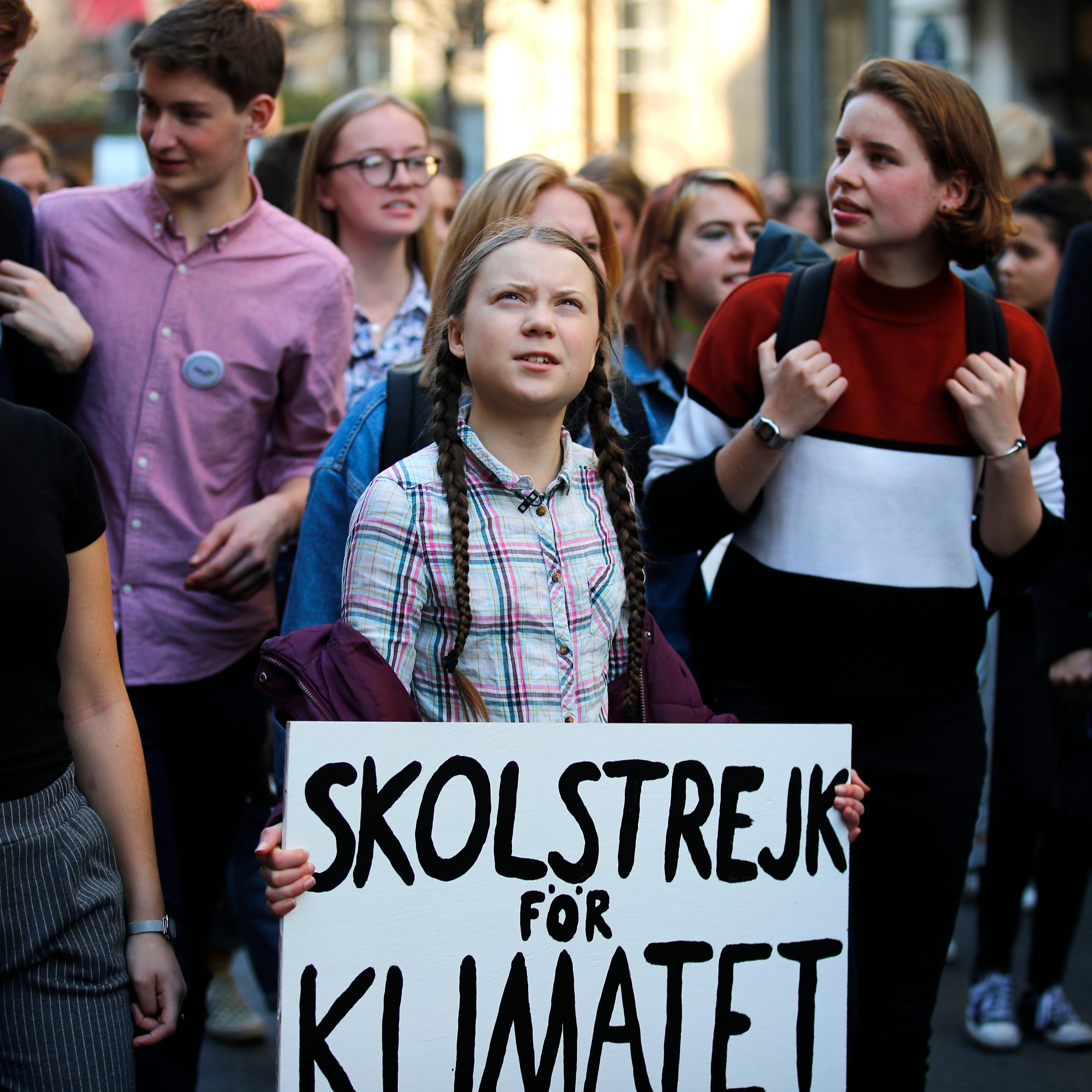 Greta Thunberg, student protesters should demand better solutions to climate change