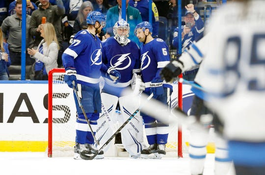 The Tampa Bay Lightning have been doing a lot of celebrating this season.