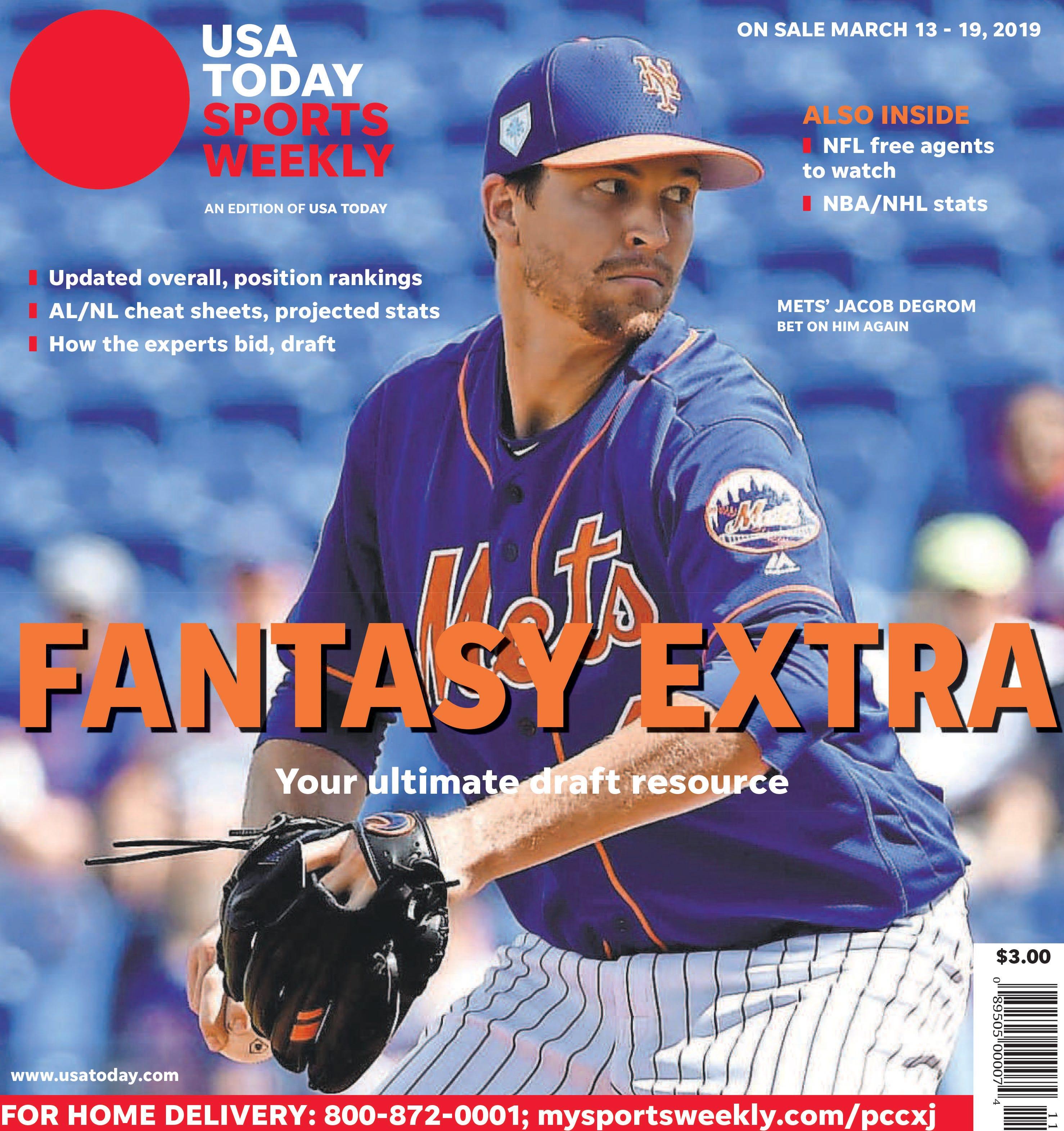 image relating to Fantasy Baseball Rankings Printable named Myth baseball ratings: Ultimate 200 total for 2019