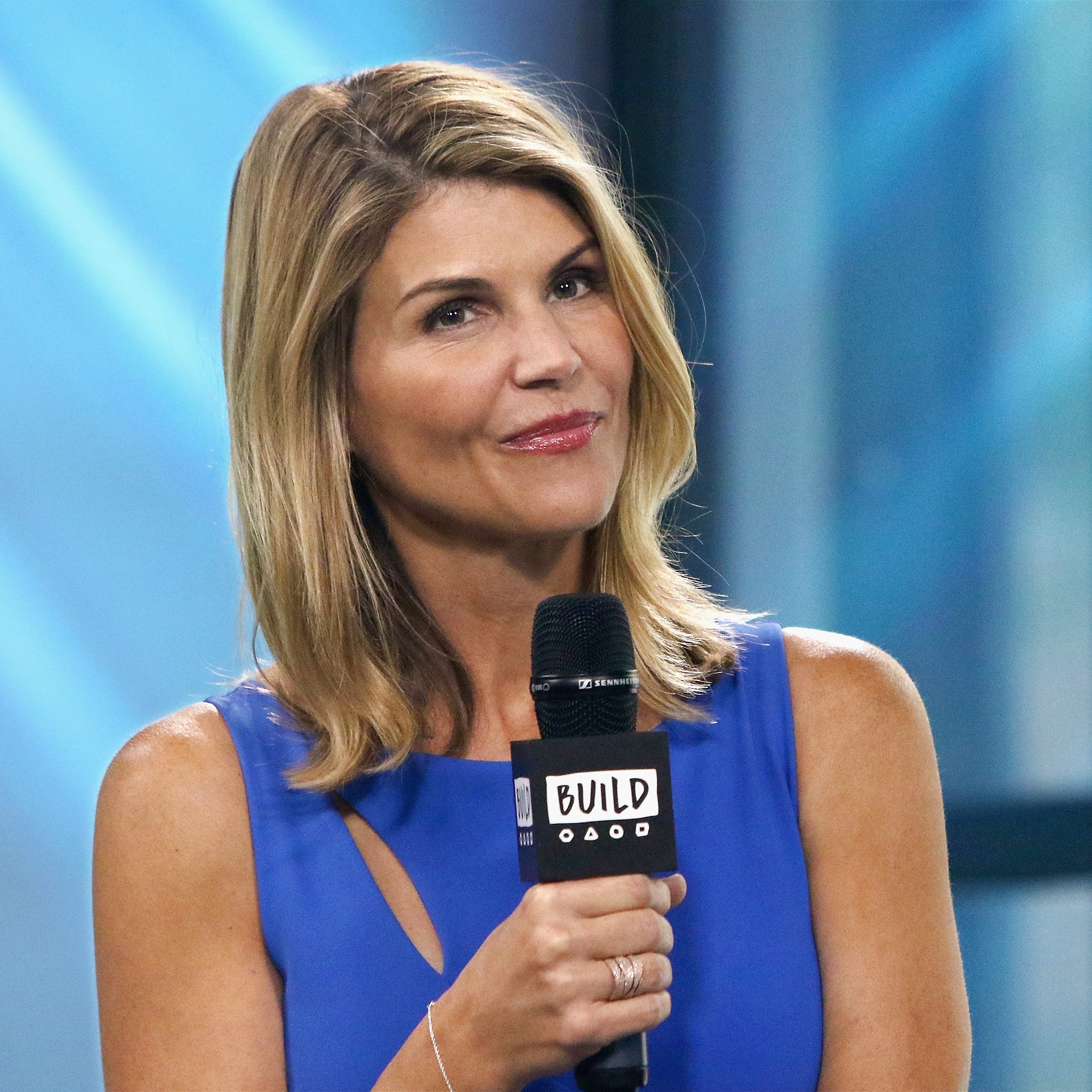 """Actress Lori Loughlin attends Build to discuss the show """"Fuller House"""" at Build Studio on August 3, 2017 in New York City."""