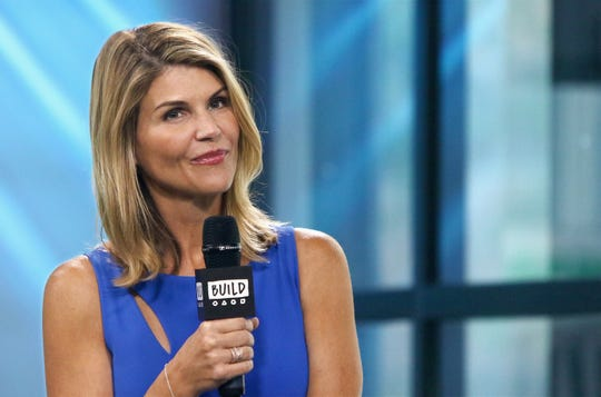 "Actress Lori Loughlin attends Build to discuss the show ""Fuller House"" at Build Studio on August 3, 2017 in New York City."