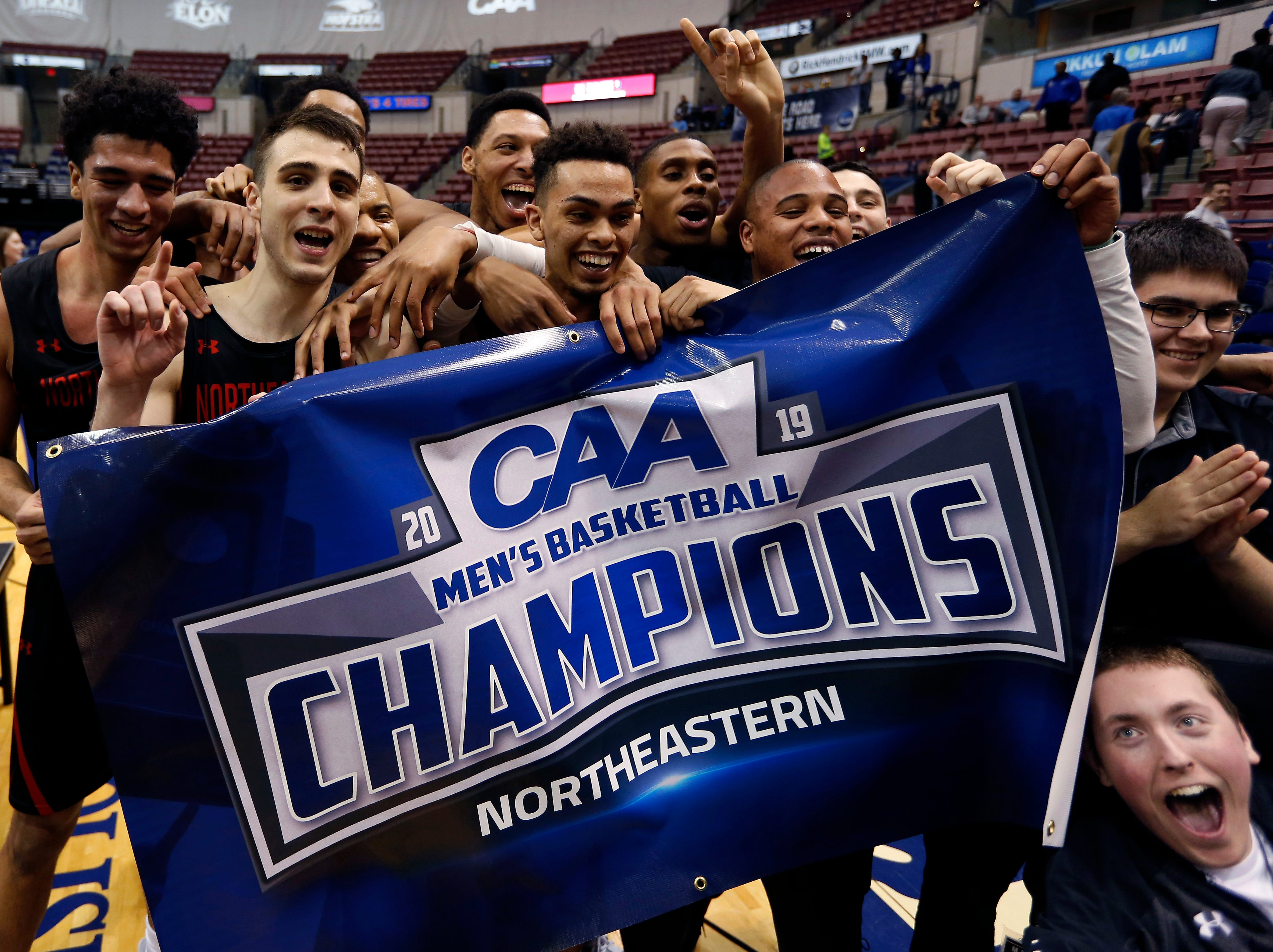Northeastern (23-10), No. 13 seed in Midwest, Colonial Athletic Association champion