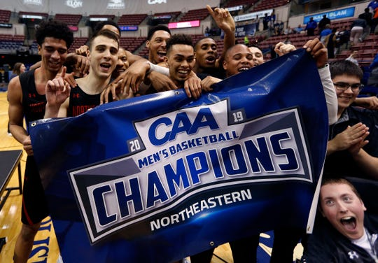 Northeastern (23-10), Colonial Athletic Association champion