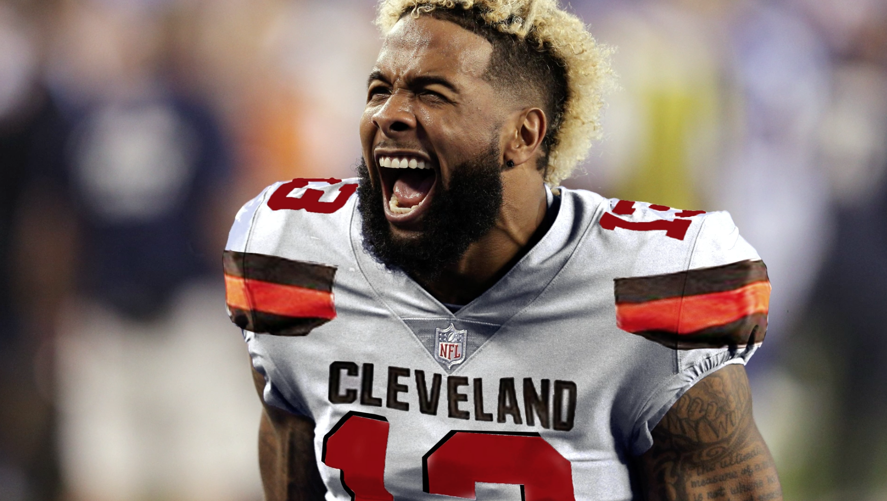 Image result for odell beckham jr browns