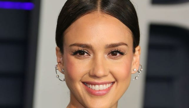 Jessica Alba permanently honors three kids with a sweet constellation of ink