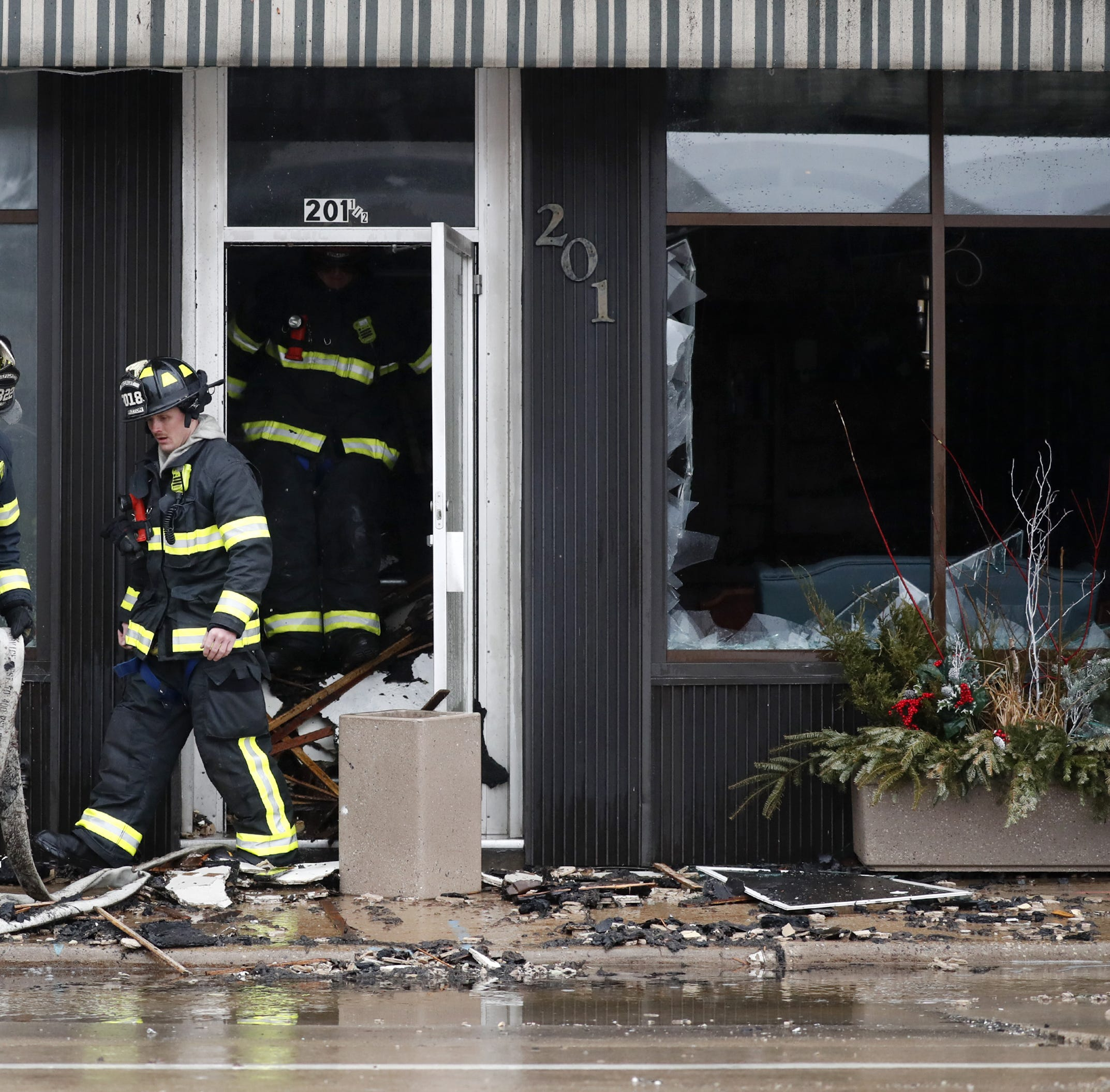 The building burned up in the downtown Appleton fire? It has a lot of history behind it