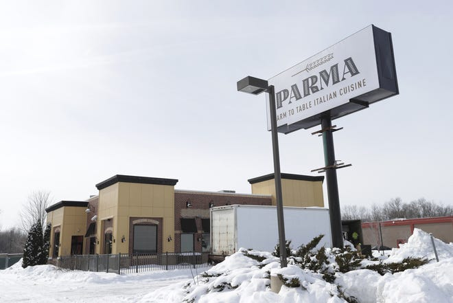 The former Parma restaurant will meet the wrecking ball shortly.