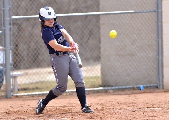 Maria Reiter, a former Neenah High School standout, batted .298 with 15 RBI for the Lawrence Vikings softball team last season.