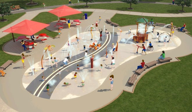 Neenah will build a firefighter-themed splash pad at Washington Park.