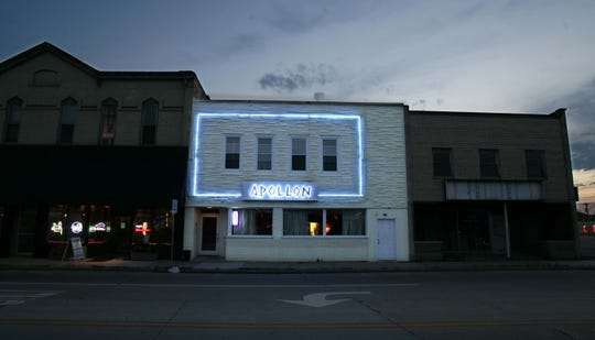 Apollon, shown here in a file photo, will reopen after Author's Kitchen + Bar, to its left, is torn down.