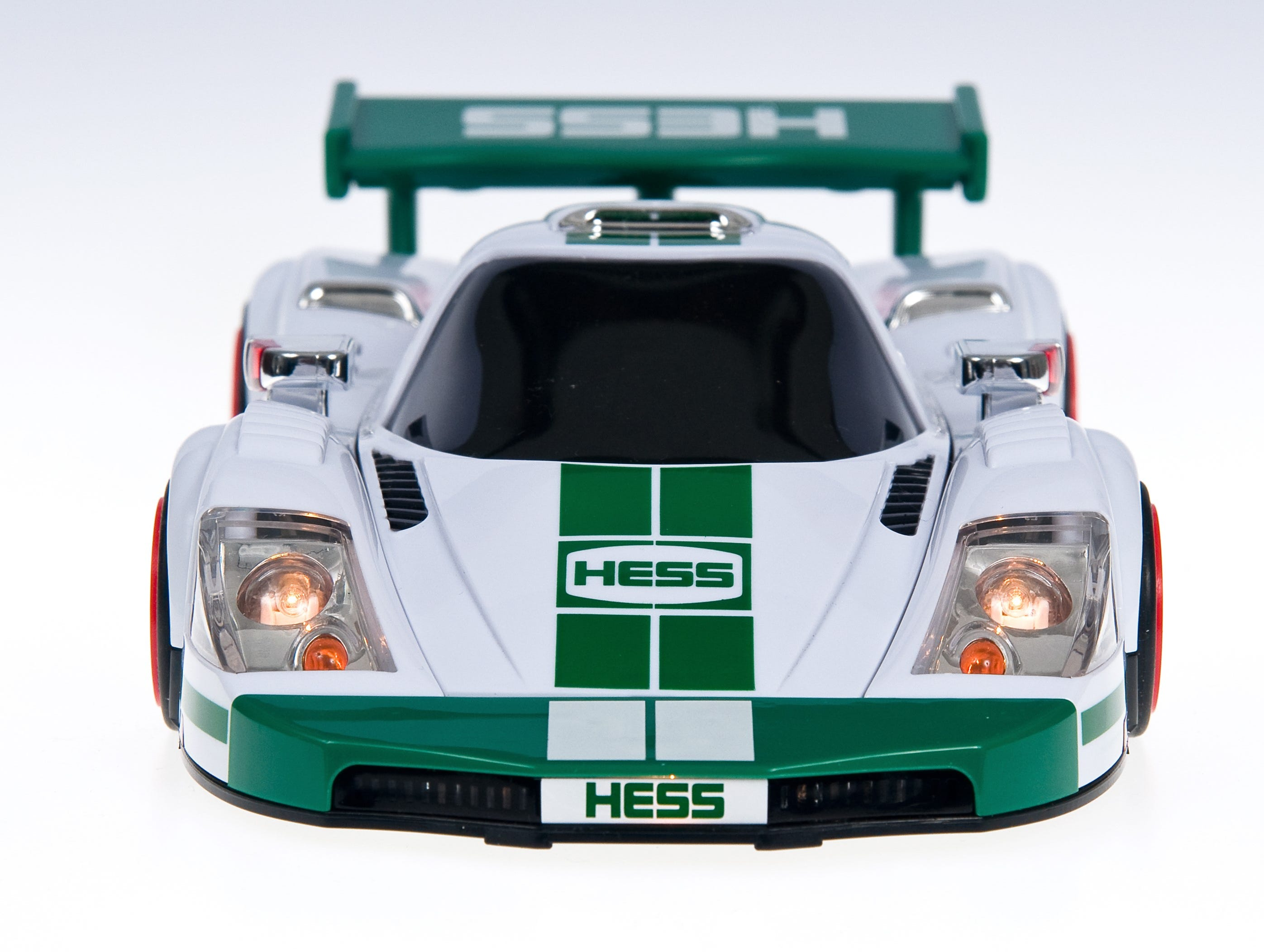 The 2009 Hess toy truck.