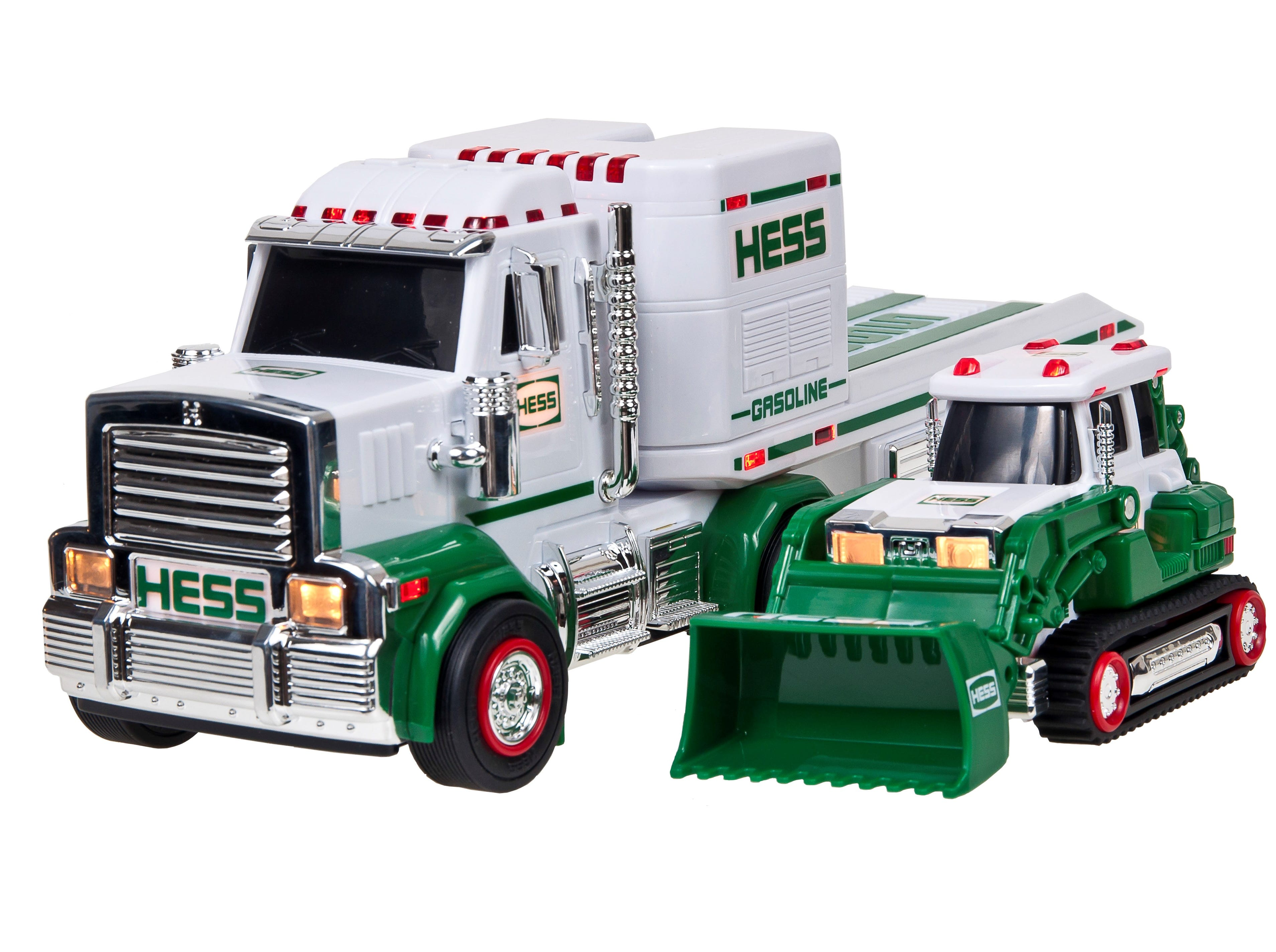 The 2013 Hess toy truck.