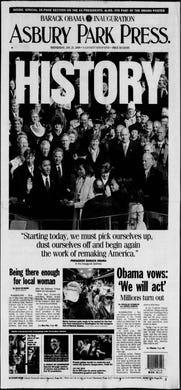 Barack Obama is sworn in as the 44th president of the United States in this special post-Inauguration Day edition from Wednesday, Jan. 21, 2009.