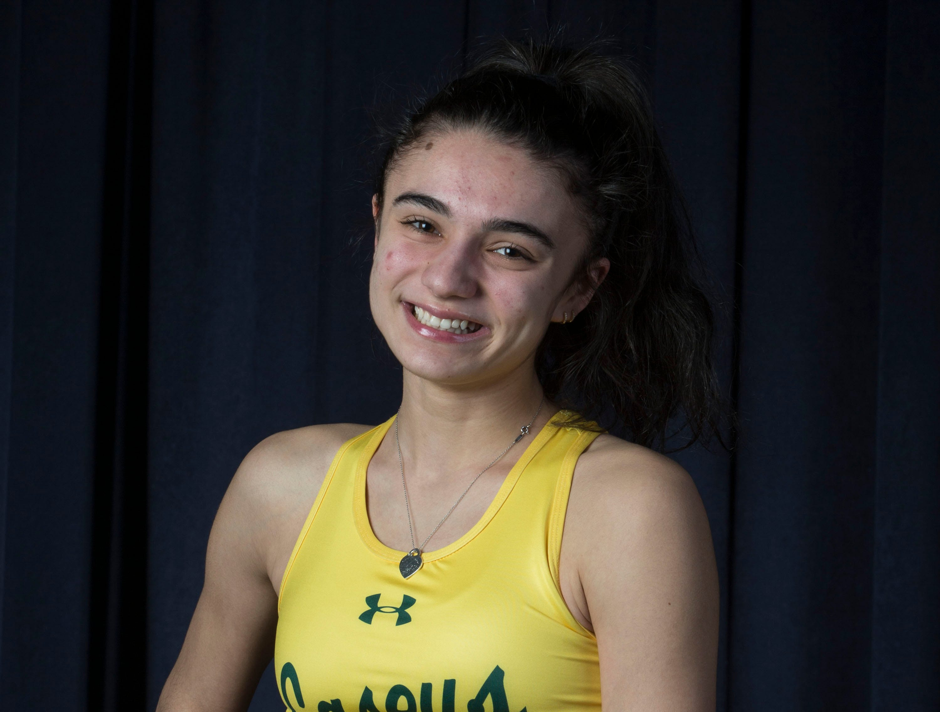 The 2019 All-Shore Girls Track- Jessie Castellano of Red Bank Catholic