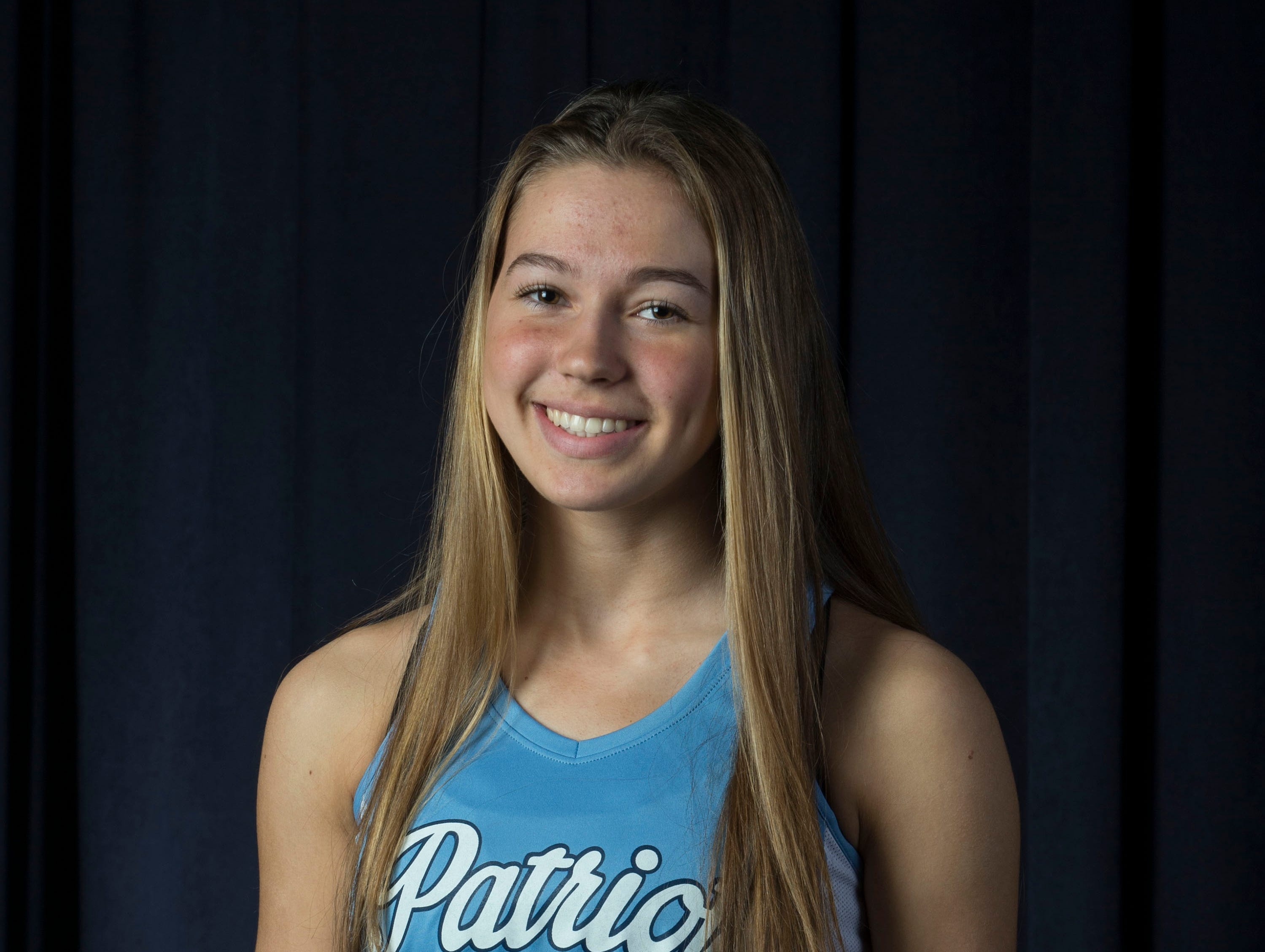The 2019 All-Shore Girls Track- Isabel Fronc of Freehold Township