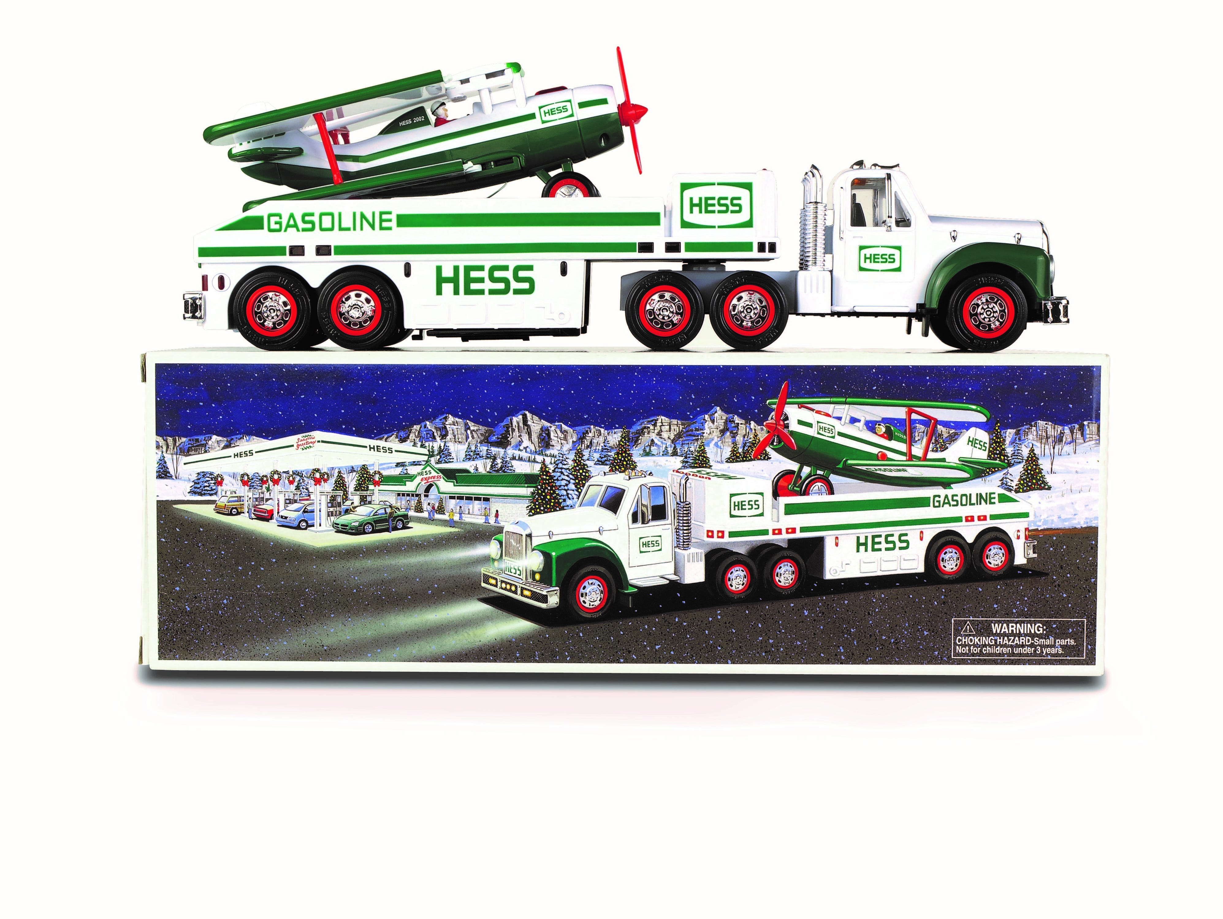The 2002 Hess toy truck.