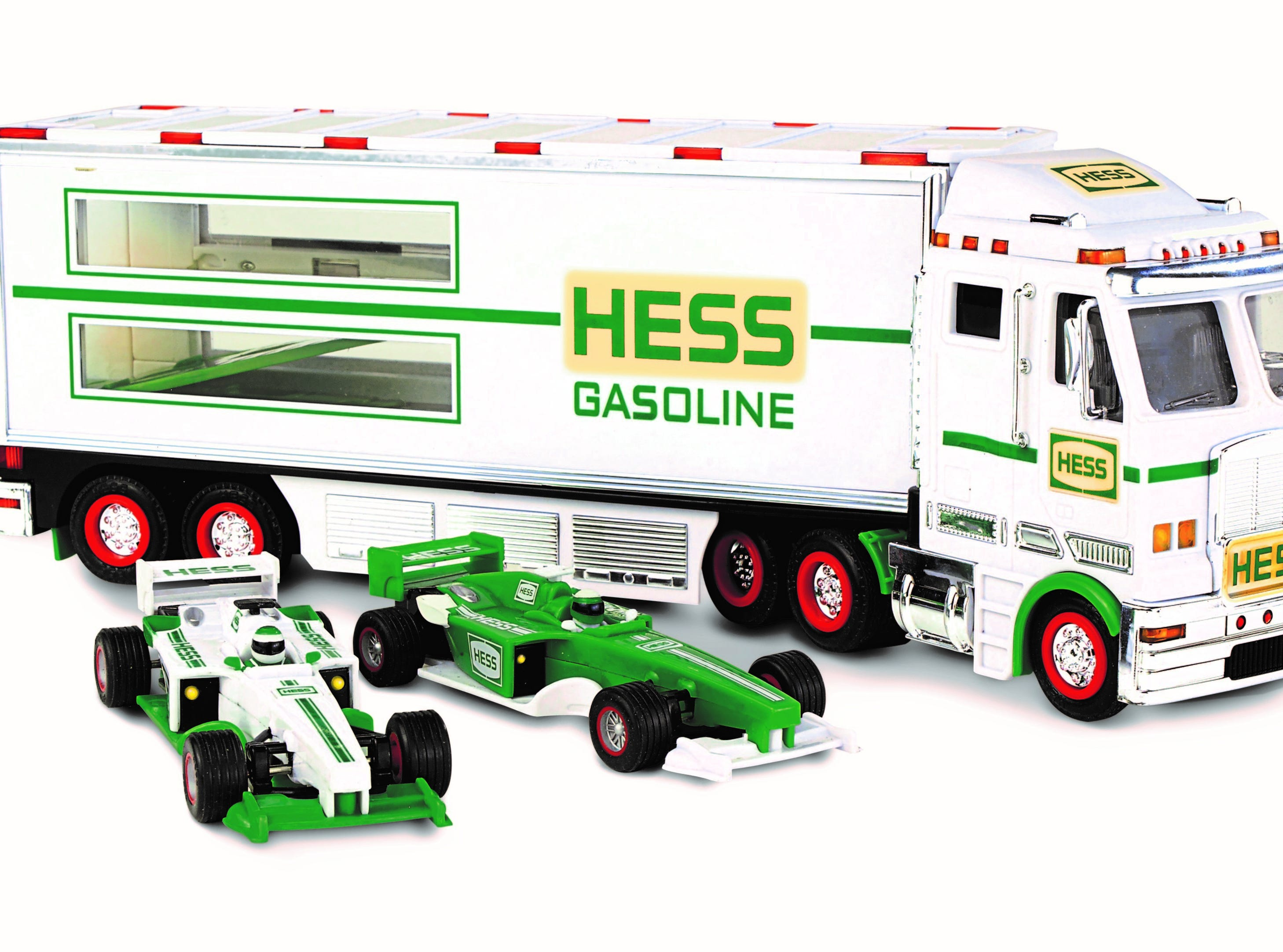 The 2003 Hess toy truck.