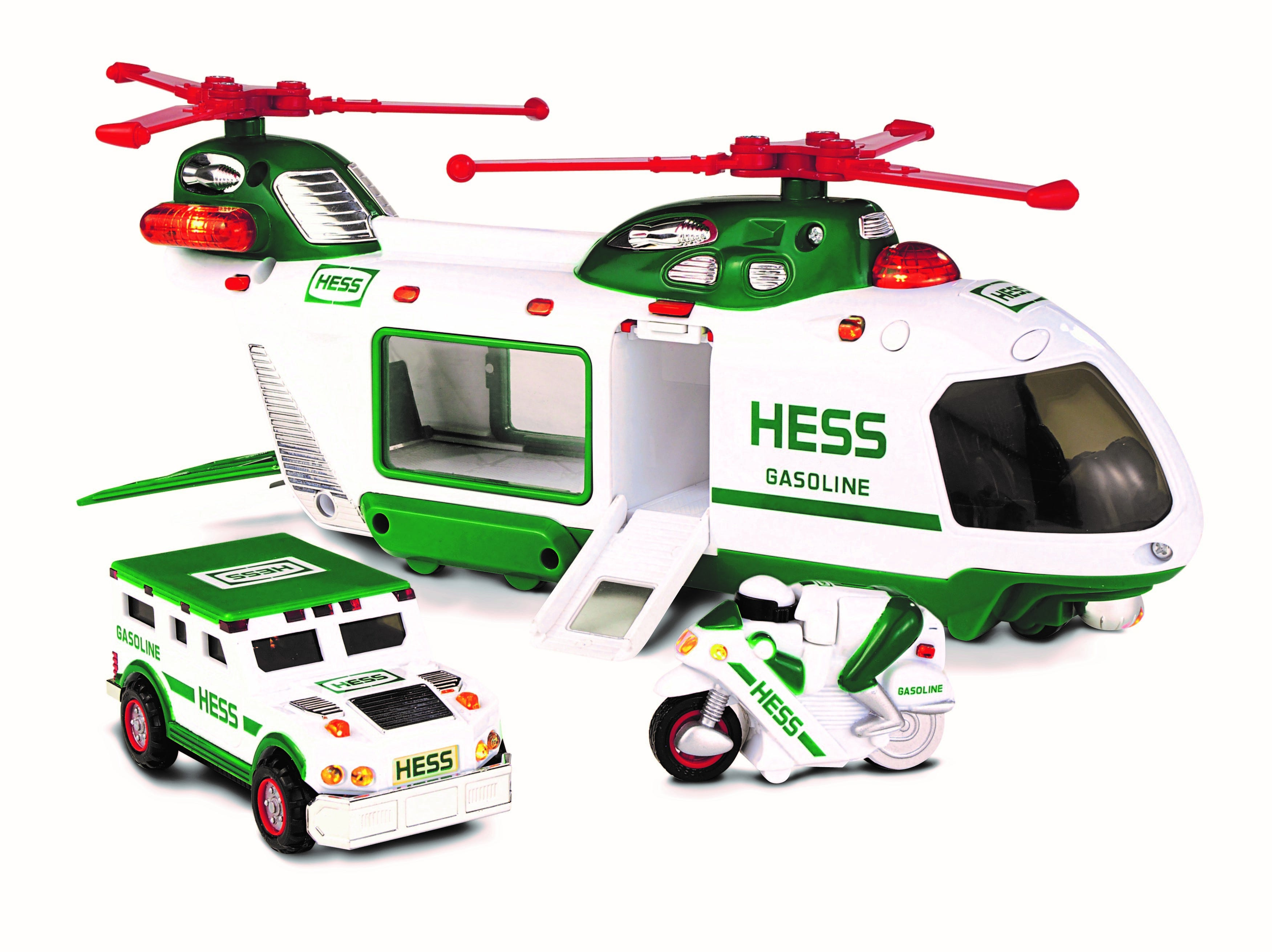 The 2001 Hess toy truck.