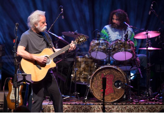 Bob Weir and Wolf Bros (Don Was and Jay Lane) perform at Count Basie Center for the Arts in Red Bank. 