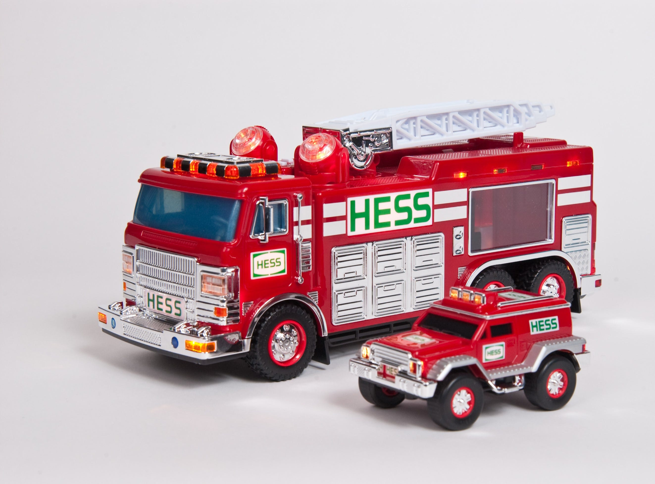 The 2005 Hess toy truck.
