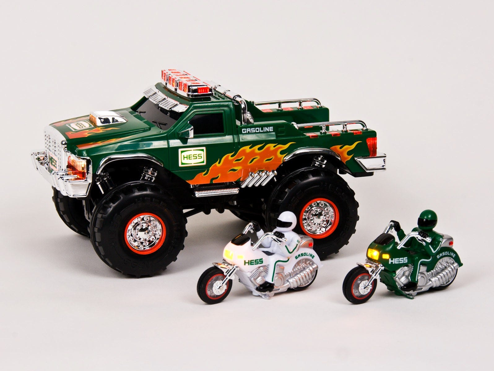 The 2007 Hess toy truck.