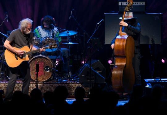Bob Weir and Wolf Bros (Don Was and Jay Lane) perform at Count Basie Center for the Arts in Red Bank. Red Bank, NJWednesday, March 13, 2019