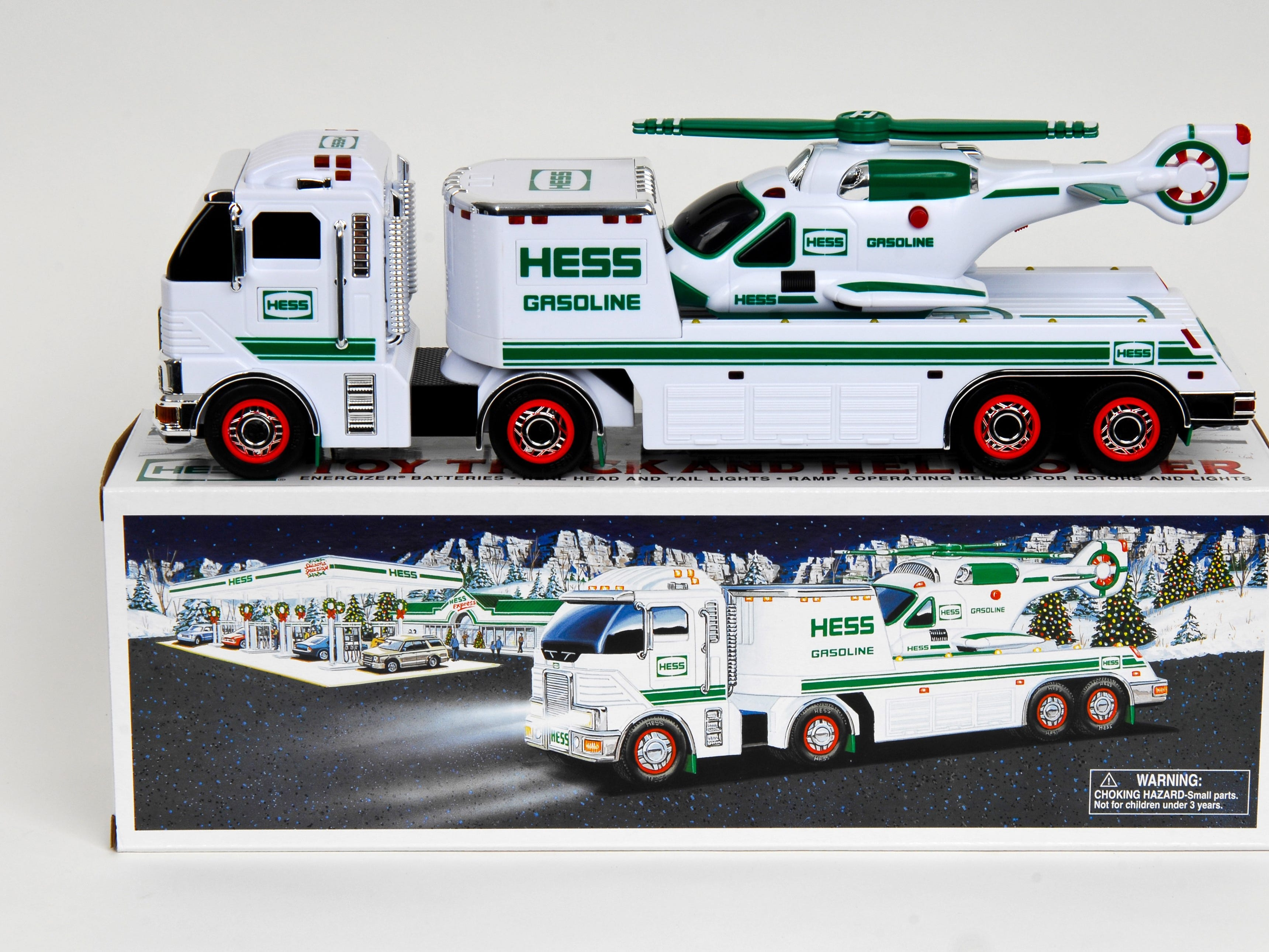 The 2006 Hess toy truck.