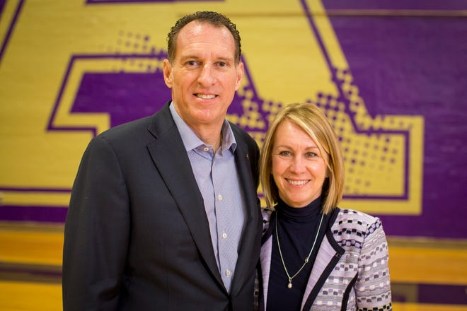 Albion College alumnus Joe Serra and his wife, Julie,a  gave $5 million to the college to improve athletic and fitness resources for students.