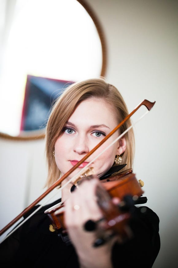 Violinist Jennifer Yarbrough plays Beethoven with the Poulsbo Community Orchestra.