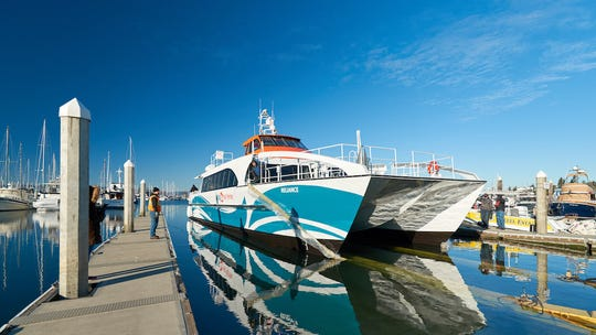 The Reliance, Kitsap Transit's newest passenger-only fast ferry, is expected to be delivered in early April.