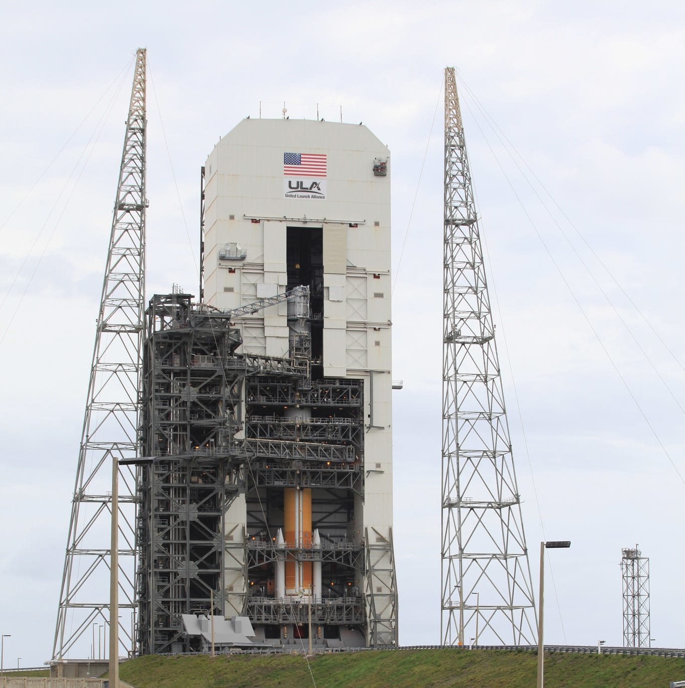 Air Force satellite set to launch on one of last 'single-stick' Delta IV rockets