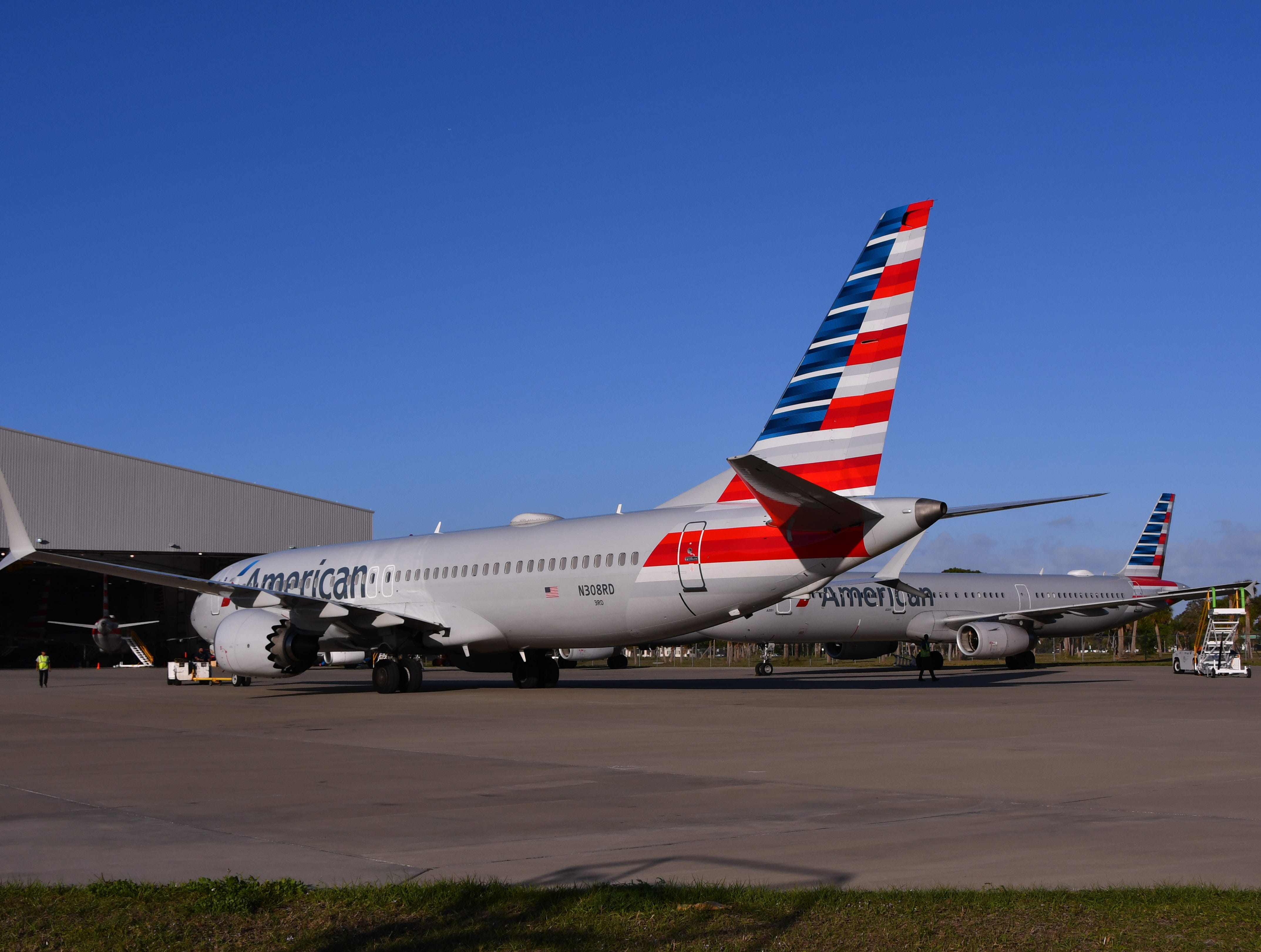 Orlando Melbourne International Airport will be housing some of the Boeing 737 Max 8 aircraft, which have been grounded around the world after two major accidents involving similar aircraft.Two had arrived by Two Thursday evening.