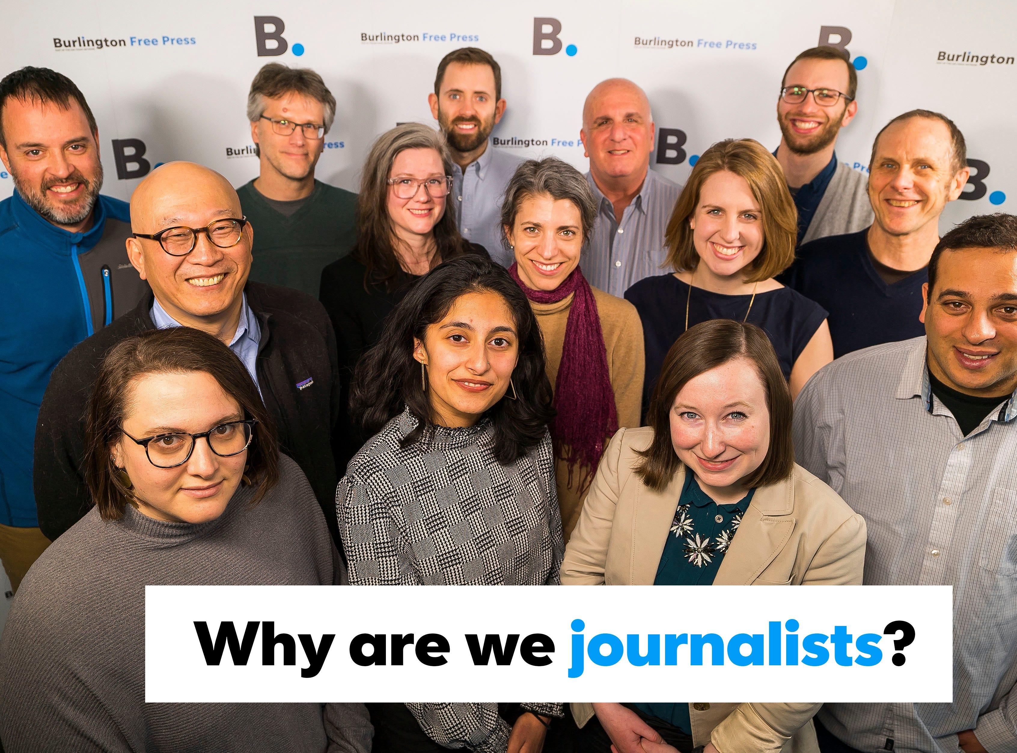 The Burlington Free Press news staff.