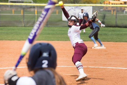 Calallen softball player Lizette Del Angel has been voted the Caller-Times High School Athlete of the Week for March 11-16.